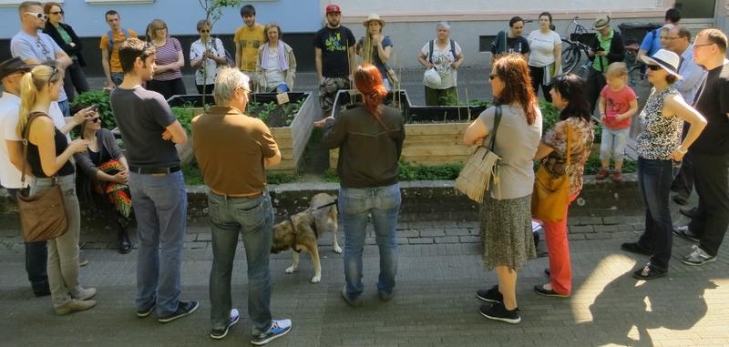 2016-05-07_Stadtwandeln Johannesviertel Parcusbeet