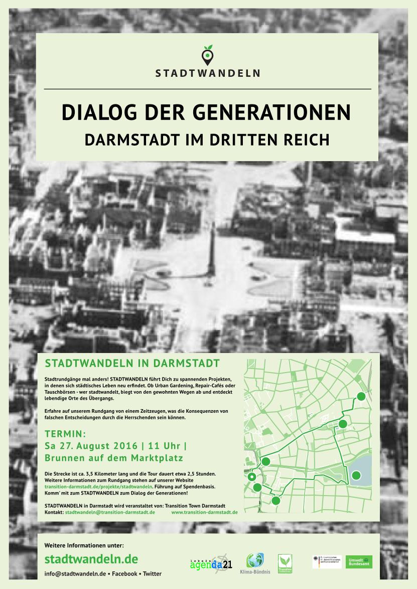 Plakat Dialog der Generationen