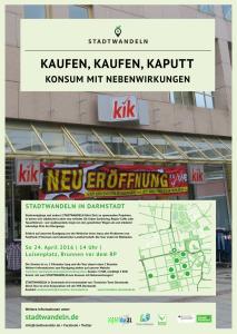 """Plakat """"Kaufen, Kaufen, Kaputt"""""""