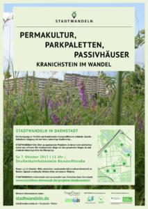 Stadtwandeln in Kranichstein @ Haltestelle Kranichstein Borsdorffstraße
