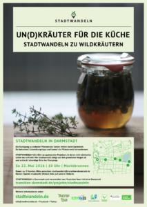 Plakat_Stadtwandeln Wildkräuter