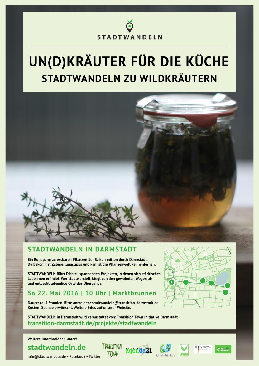 Plakat Kräuterwanderung
