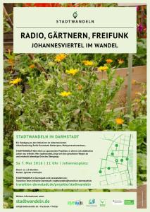 Plakat Stadtwandeln Johannesviertel