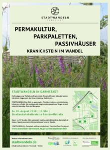 Stadtwandeln in Kranichstein @ Straßenbahnhaltestelle Borsdorffstraße