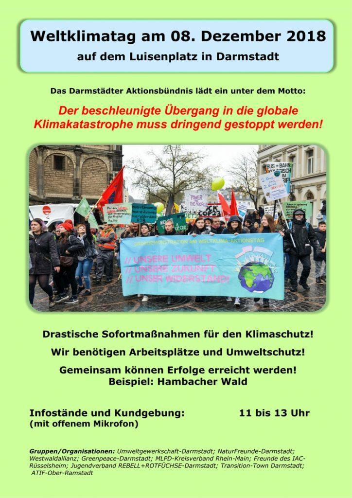 Kundgebung zum Weltklimatag @ Luisenplatz