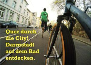 Quer durch die City! Darmstadt auf dem Rad entdecken @ Hochschulstraße 1
